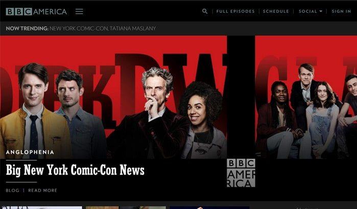 siti famosi realizzati con wordpress bbc america web agency creorin