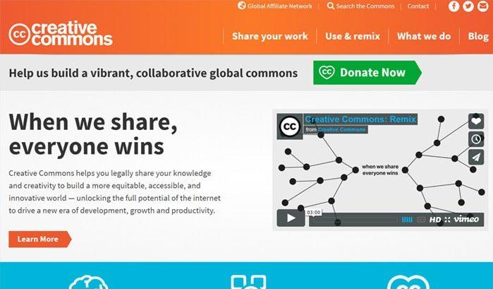 siti-famosi-realizzati-con-wordpress-creative-commons-web-agency-creorin