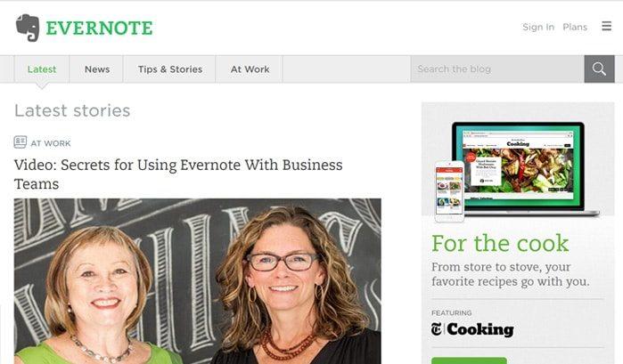 siti-famosi-realizzati-con-wordpress-evernote-web-agency-creorin