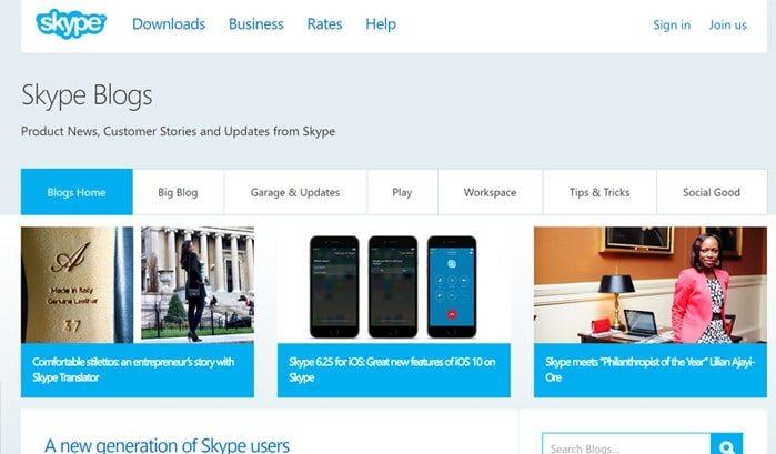 siti-famosi-realizzati-con-wordpress-skype-blog-web-agency-creorin
