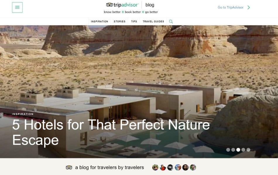 siti-famosi-realizzati-con-wordpress-tripadvisor-blog-web-agency-creorin