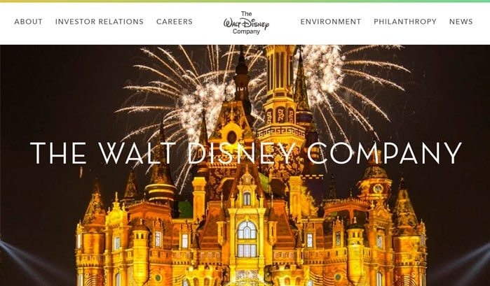 siti famosi realizzati con wordpress walt disney company web agency creorin