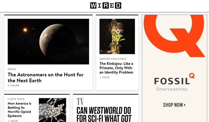 siti famosi realizzati con wordpress wired web agency creorin
